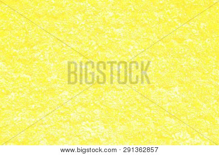 Abstract Faded Yellow Marigold Flowers Decorative On Wall, Flowery Texture On Floral Floor, Flowery