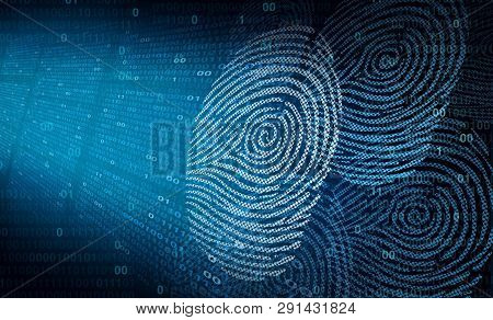 Personal Online Security And Password Encryption Data Transfer As An Internet Secure Technology For