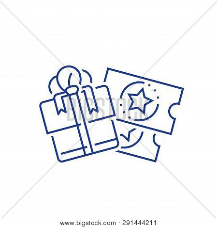 Win Present, Loyalty Incentives, Earn Reward, Redeem Gift, Perks Concept, Discount Coupon, Lottery T