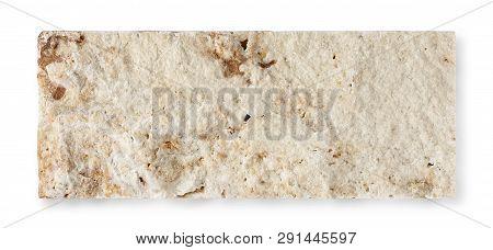 Decorative Stone Brick Isolated On White Background