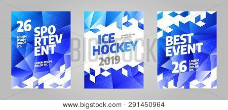 Layout Poster Template Design For Sport Event 2019