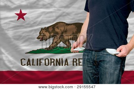 Recession Impact On Young Man And Society In California