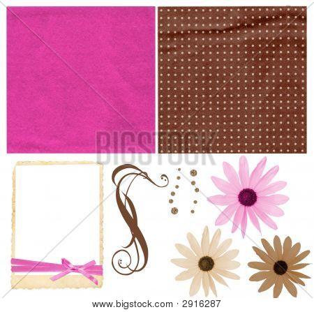 Colorful Scrapbook Kit