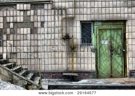 Abandoned Psychiatric Hospital.Kiev,Ukraine