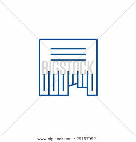 Advertising Classifieds Line Icon Concept. Advertising Classifieds Flat  Vector Symbol, Sign, Outlin