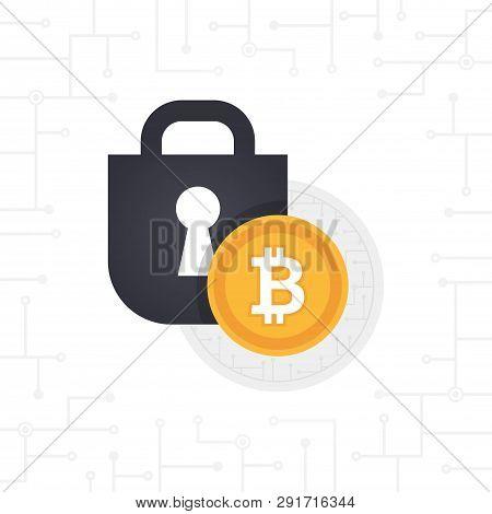 Locked Bit-coin Coin