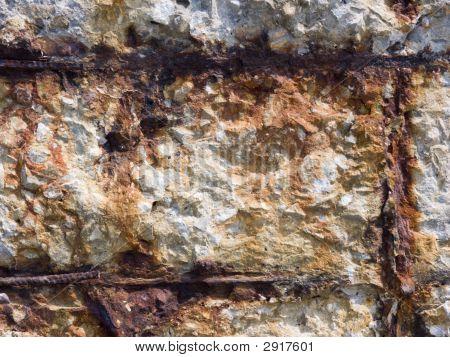 Destruction Of A Concrete Wall