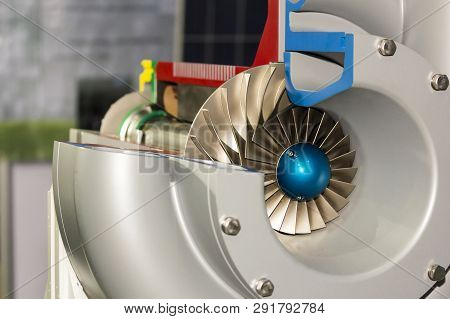 Detail Impeller Inside Electric Centrifugal Pump For Industrial