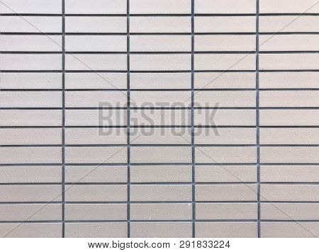 Light Brown Ceramic Tile Wall For Background