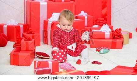 Sharing Joy Of Baby First Christmas With Family. Baby First Christmas Once In Lifetime Event. Gifts