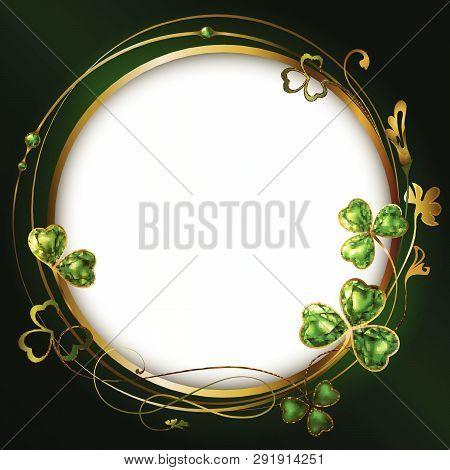 Frame Clover Round