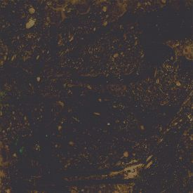 Hand Drawn Grunge Texture In Dark Olive-brown Color. Watercolor Imitation Stone, Brown Marble, Grani