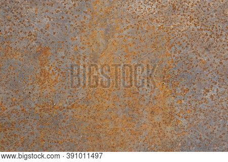 Rust Texture Small Brown Rust Pockets Rusty Brown Weathered Surface