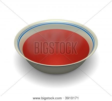 Hot Bowl Of Soup