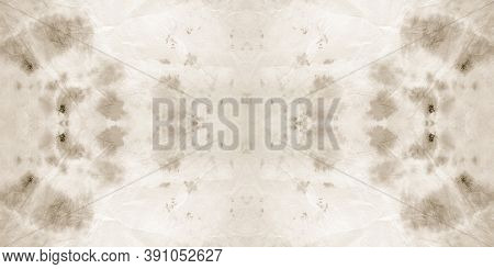 Seamless Old Tie And Dye Texture. Abstract Swimwear Design. Paintbrush Wallpaper. Grunge Acrylic Spl