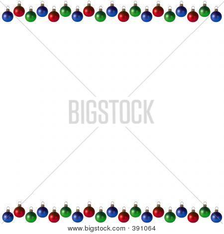 Christmas Bulbs Background