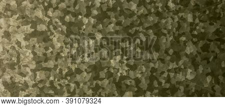 Khaki Texture Background. Watercolor Camo Material. Dark Combat Pattern. Grunge Geometric Print. Gre