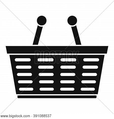 Purchase Basket Icon. Simple Illustration Of Purchase Basket Vector Icon For Web Design Isolated On