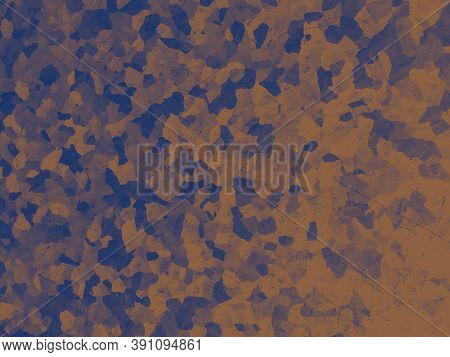 Watercolor Fashion Camouflage. Orange Khaki Textile. Camo Uniform. Modern Desert Print. Fashion Camo