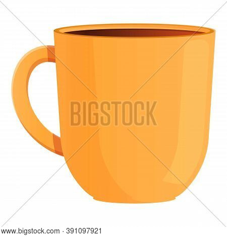 Tea Beverage Mug Icon. Cartoon Of Tea Beverage Mug Vector Icon For Web Design Isolated On White Back