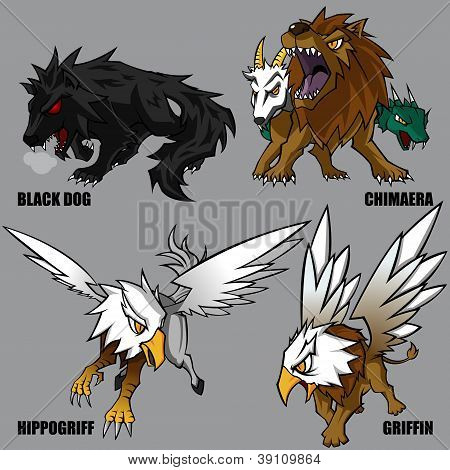 Mythical Creatures Set