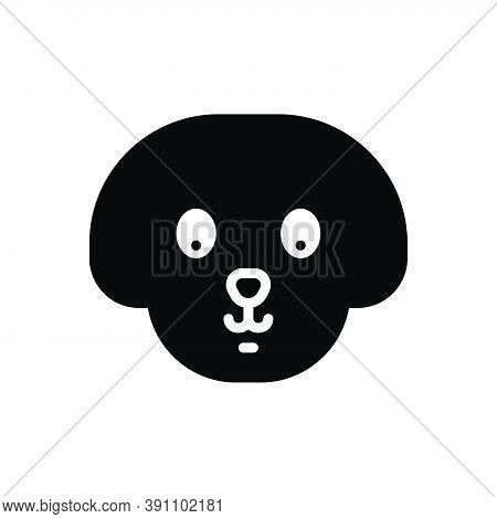 Black Solid Icon For Pet Tamed Domestic Tame Home Animal Puppy Dog