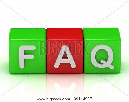 Faq Two Green And One Red Cube