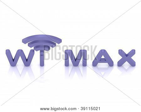 Abstract Wi Max Logo