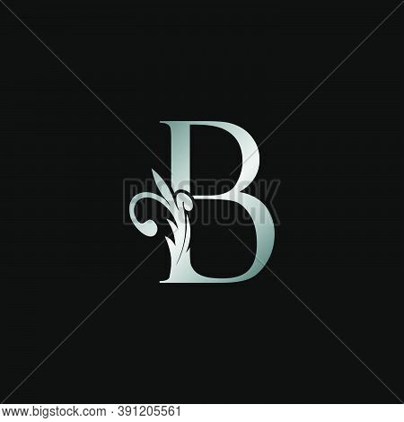 Classy Design Letter B Logo Icon, Vector Design Can Use Monogram Sign Symbol.