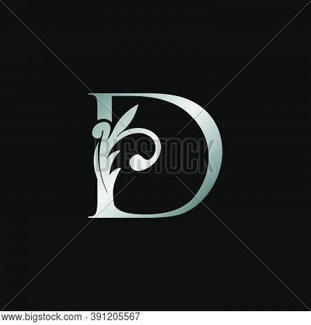 Classy Design Letter D Logo Icon, Vector Design Can Use Monogram Sign Symbol.