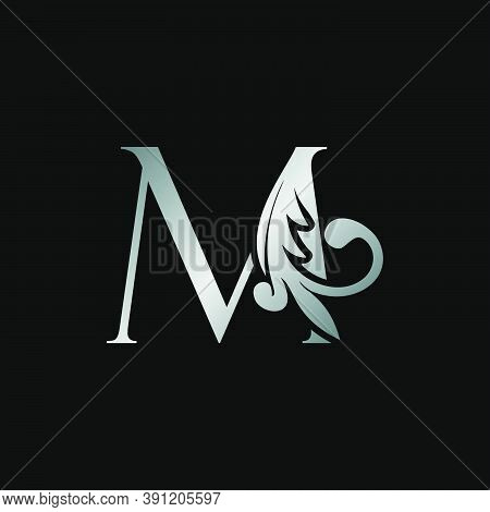 Classy Design Letter M Logo Icon, Vector Design Can Use Monogram Sign Symbol.