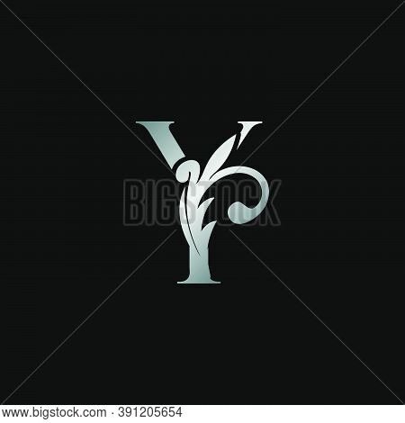 Classy Design Letter Y Logo Icon, Vector Design Can Use Monogram Sign Symbol.
