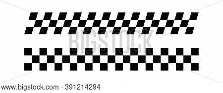 Race Flag Design Vector. Race Flag Illustration Vector