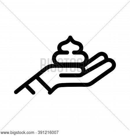 Shaving Foam Icon. Outline Shaving Foam Vector Icon For Web Design Isolated On White Background