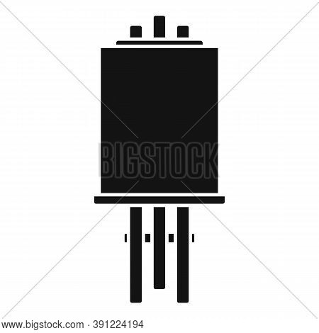 Gallery Easel Icon. Simple Illustration Of Gallery Easel Vector Icon For Web Design Isolated On Whit