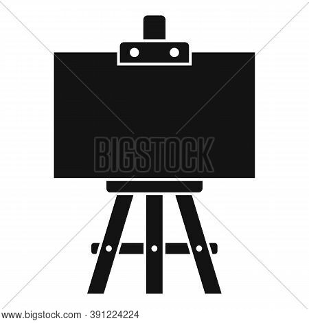 Education Easel Icon. Simple Illustration Of Education Easel Vector Icon For Web Design Isolated On
