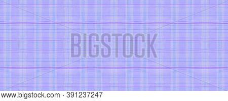 Blue Check Plaid. Watercolour Stripes Texture. Modern Textured Ornament. Seamless Check Plaid. Briti