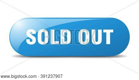 Sold Out Button. Sold Out Sign. Key. Push Button.