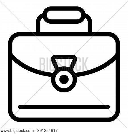 Adaptation Manager Case Icon. Outline Adaptation Manager Case Vector Icon For Web Design Isolated On