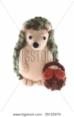 Handmade Hedgehog Toy Father