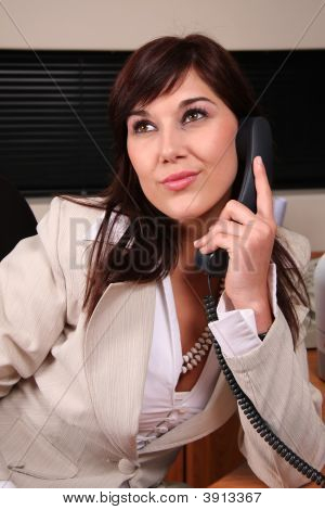 Pretty Telephone Operator