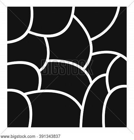 Paving Stone Icon. Simple Illustration Of Paving Stone Vector Icon For Web Design Isolated On White