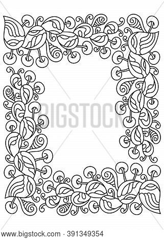 Vector Hand Drawn Cartoon Doodle Illustration. Abstract Objects And Elements For Decorating Postcard