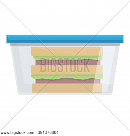 Hearty Lunch Icon. Cartoon Of Hearty Lunch Vector Icon For Web Design Isolated On White Background