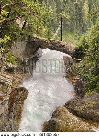 Stuibenfall Is Tirol's Tallest Waterfall And Can Be Explored Along A New Complex Of Trails And Viewi