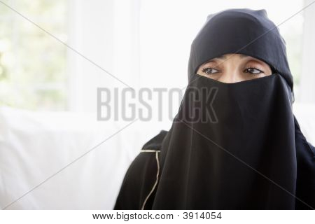 Portrait Of Middle Eastern Woman