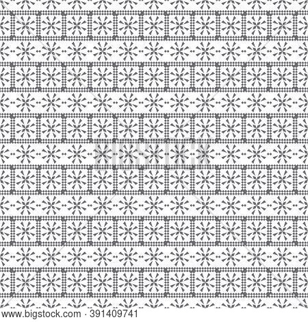 Seamless Pattern. Modern Elegant Texture. Regularly Repeating Rectangle Shapes, Small Rhombuses, Tri