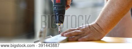 The Joiner Attaches The Fittings To The Board With A Screwdriver. Custom-made Furniture