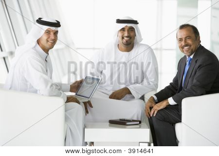 Middle Eastern Business Men