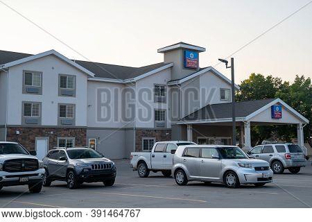 Vernal, Utah - September 21, 2020: Exterior Building Of The Surestay Plus Hotel, By Best Western